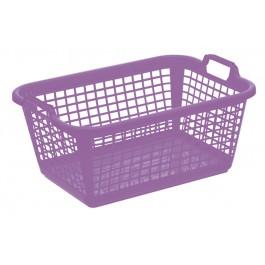 Koš na prádlo XXL, fialový