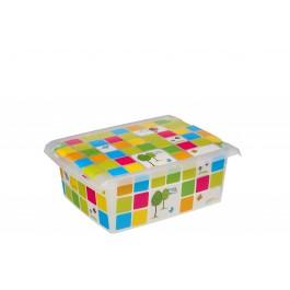 """Plastový box Fashion, """"KIDS"""", 39x29x14 cm - POSLEDNÍCH 7 KS"""