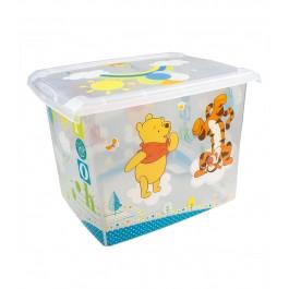 "Plastový box Fashion, ""Medvídek Pú"", 39x29x27cm"