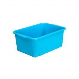Plastový box Magic, malý, modrý, 25x17x10 cm