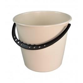 Kbelík s plastovou rukojetí, krémový, 10l - POSLEDNÍCH 7 KS
