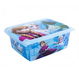 """Plastový box Fashion, """"Frozen"""", 39x29x14cm"""