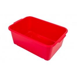 Plastový box Magic, velký, červený, 30x20x11 cm