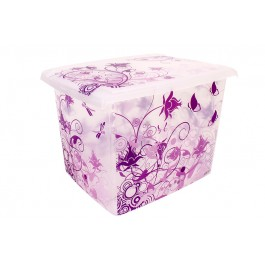 Plastový box Fashion, Romance, 39x29x27cm