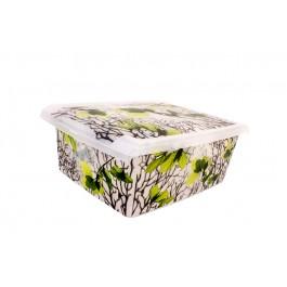 """Plastový box Fashion, """"Spring"""", 39x29x14cm"""
