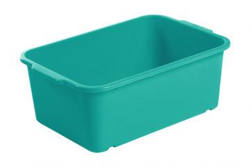 Plastový box Magic, velký, mořská modř, 30x20x11 cm - POSLEDNÍCH 19 KS