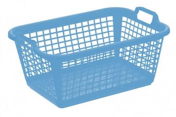 Koš na prádlo XXL, modrý