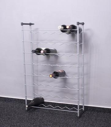 Stojan na víno Klasik, 48 lahví, 92x58x23 cm