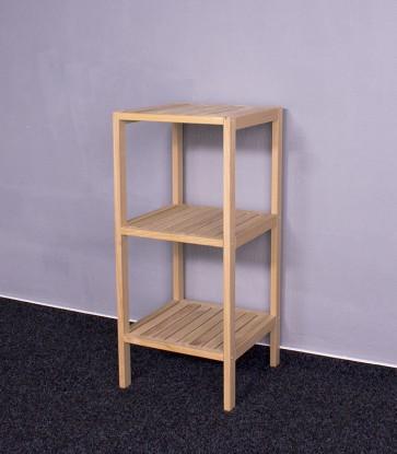 Dřevěný regál D-3, 90x40x40 cm