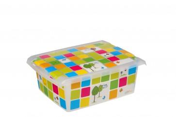 """Plastový box Fashion, """"KIDS"""", 39x29x14 cm - POSLEDNÍCH 6 KS"""