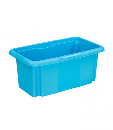 Plastový box Colours, 7 l, modrý - POSLEDNÍCH 9 KS