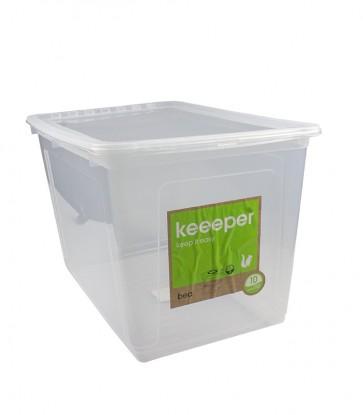 Plastový box Basixx 52 l, průhledný