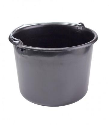 Kbelík pro stavební práce, černý, 12l - POSLEDNÍ 4 KS