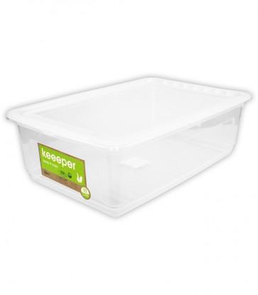 Plastový box Basixx 30 l, průhledný