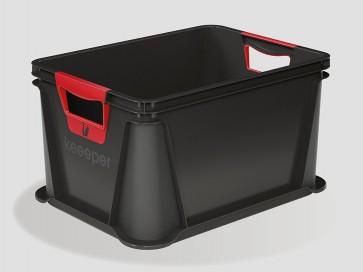 Plastový box Eurobox 20 l, grafit