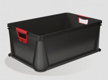 Plastový box Eurobox 45 l, grafit - POSLEDNÍCH 12 KS