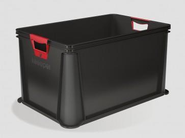 Plastový box Eurobox 64 l, grafit