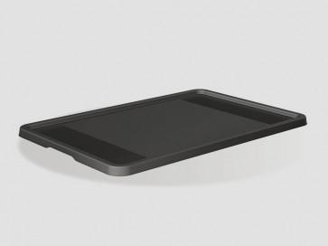 Plastové víko Eurobox 60x40 cm, grafit - POSLEDNÍCH 14 KS