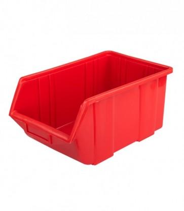 Box na drobný materiál, malý, červený