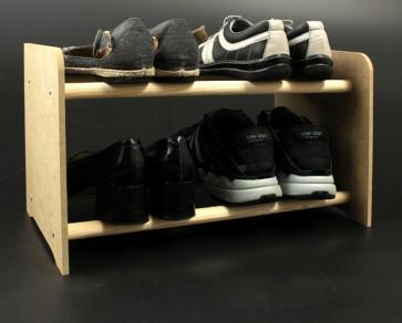 Regál na boty Soft, 27x65,5x24 cm