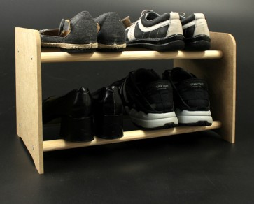 Regál na boty Soft, 27x90,5x24 cm