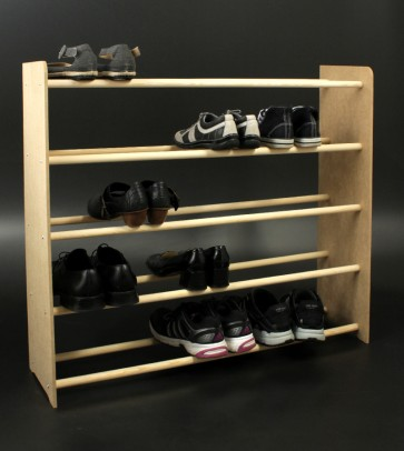 Regál na boty Soft, 81x46x24 cm