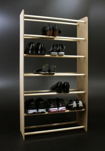 Regál na boty Soft, 117x90,5x24 cm