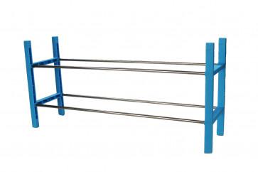 "Botník ""ROOK"", modrý,  67x19x33 cm"