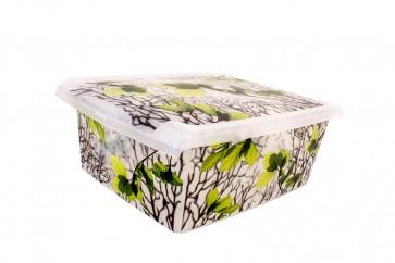 "Plastový box Fashion, ""Spring"", 39x29x14cm - POSLEDNÍCH 6 KS"