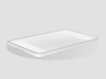 Plastové víko Eurobox 60x40 cm, průhledné