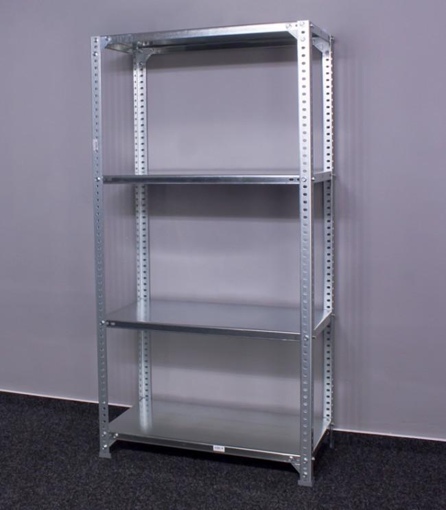 kovov reg l metal 4 police 150x60x50 cm 100 kg. Black Bedroom Furniture Sets. Home Design Ideas