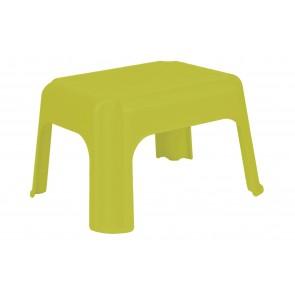 Plastový taburet zelený, 36,5x30x24 cm - POSLEDNÍCH 6 KS