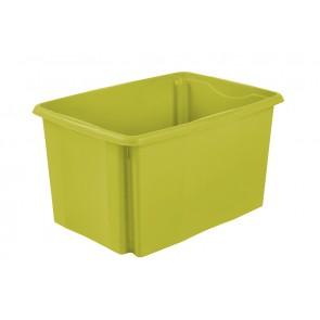Plastový box Colours, 45 l, zelený bez víka, 55x39,5x29,5 cm - POSLEDNÍCH 16 KS