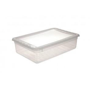 Plastový box Basixx 11 l, průhledný.