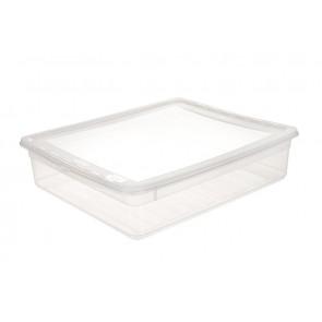 Plastový box Basixx 9 l, průhledný.