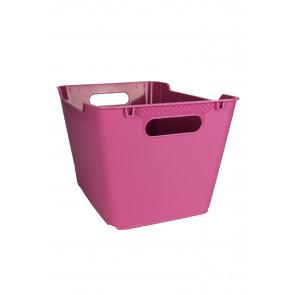 Plastový box LOFT 12 l, růžový, 35,5x23,5x20 cm