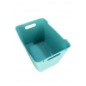 Plastový box LOFT 12 l, modrý, 35,5x23,5x20 cm