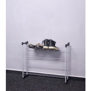 Kovový botník Praktik, 53x66x21 cm, 12 párů bot