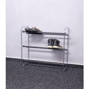 Kovový botník Elegant, 61x65x23 cm, 9 párů bot