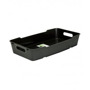 Plastový box LOFT 5,5 l, grafit, 40x22x7 cm - POSLEDNÍCH 15 KS