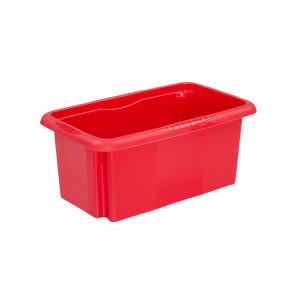 Plastový box Colours, 7 l, červený - POSLEDNÍCH 5 KS