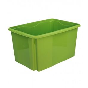Plastový box Colours, 45 l, zelený - POSLEDNÍCH 49 KS