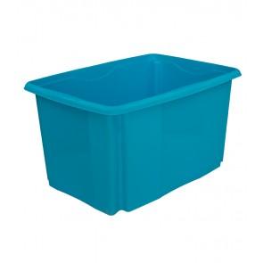 Plastový box Colours, 45 l, modrý - POSLEDNÍCH 10 KS