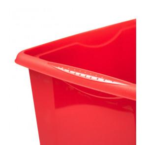 Plastový box Colours, 15 l, červený POSLEDNÍCH 9 KS