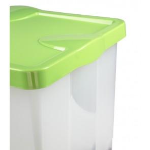 Plastový box Roll, zelený, 60x40x35 cm  - POSLEDNÍ 2 KS
