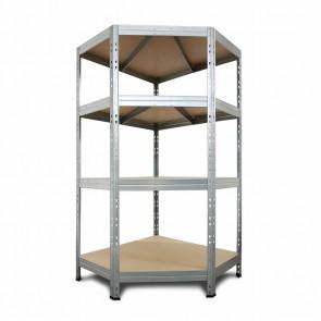 Regálový systém Corner, 180x210x240x45cm - 250kg