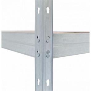 Regálový systém Corner, 180x180x210x45cm - 250kg