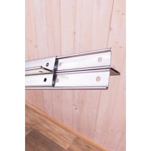 Kovový regál Idea, 5 polic, 240x80x60 cm, 150kg