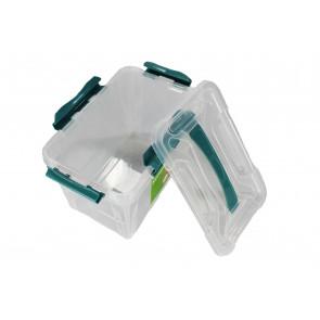 Plastový Clipp box, 15,3 l , průhledný , 39x29x18cm - POSLEDNÍCH 6 KS