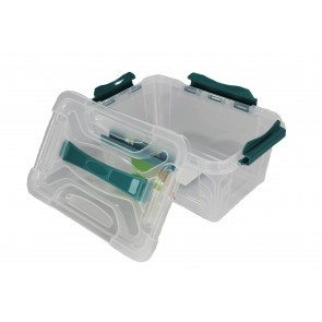 Plastový Clipp box, 6,6 l , průhledný , 29x19x18cm - POSLEDNÍCH 5 KS